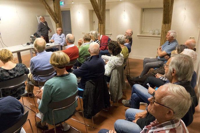 Jaarvergadering vrienden van Dalfsen - Foto: Geert Bistervels