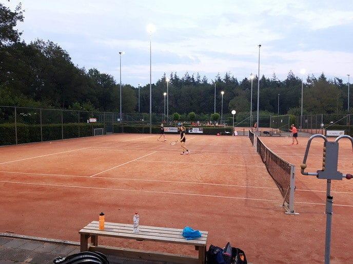 Zomeravondcompetitie tennis DLTC - Foto: eigen geleverde foto