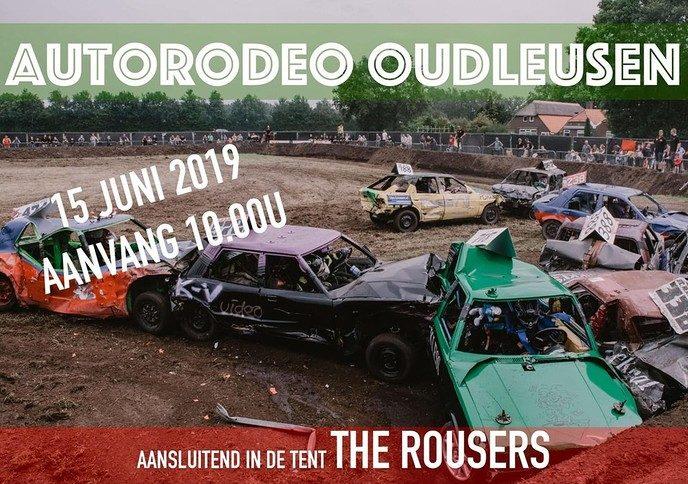 Team autorodeo Oudleusen is er klaar voor