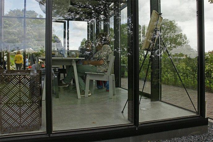 Open dag sluiswachtershuis Vechterweerd - Foto: Paul Scholten
