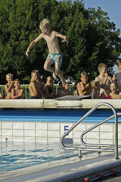 Zwemvierdaagse Nieuwleusen: veel deelnemers - Foto: Paul Scholten