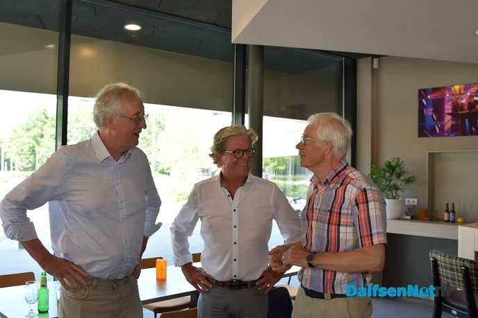 John Buissink neemt afscheid van Trefkoele+ - Foto: Johan Bokma