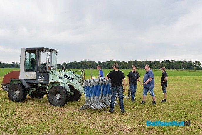 Team autorodeo Oudleusen is er klaar voor - Foto: Johan Bokma