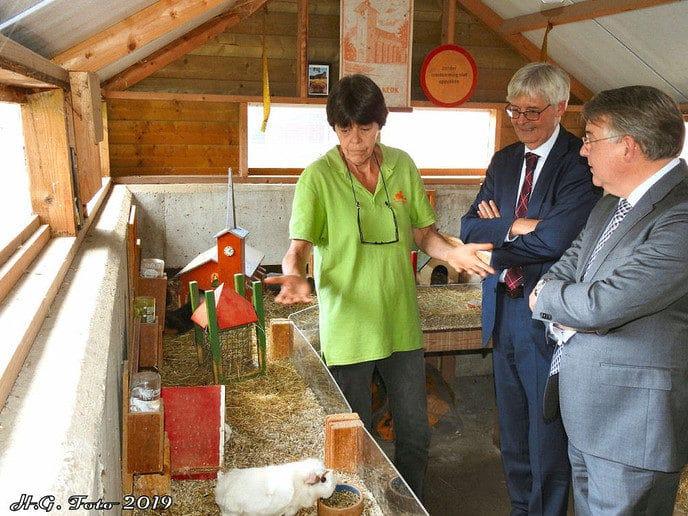 College  Ommen bezoekt de biologische zorgboerderij Aan 't Zandeinde