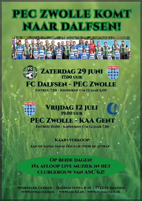 PEC Zwolle Op Sportpark Gerner - Foto: eigen geleverde foto