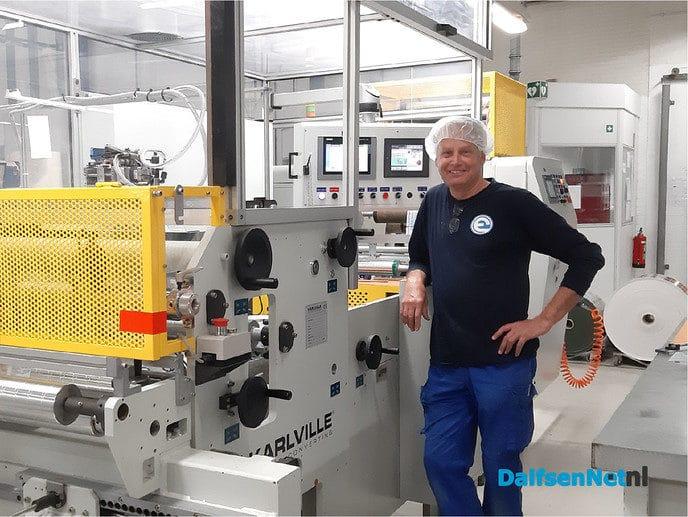 Hoera! Mario werkt vandaag al 40 jaar bij Eshuis - Foto: Ingezonden foto