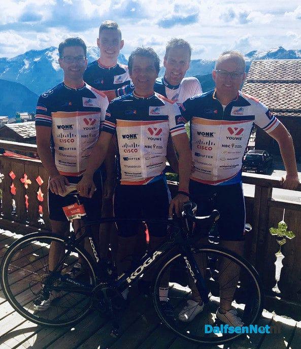 Team D211 haalt maar liefst € 27.500 op met Alpe D'HuZes - Foto: Ingezonden foto