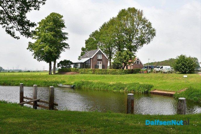 Open dag sluiswachterswoning stuw Vechterweerd - Foto: Johan Bokma