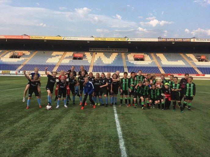 Wedstrijd verslag PEC Zwolle MO14 – FC Dalfsen JO12 - Foto: eigen geleverde foto