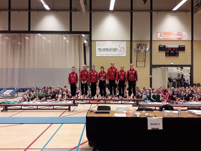 Junioren team GVN springt mooi NK - Foto: eigen geleverde foto