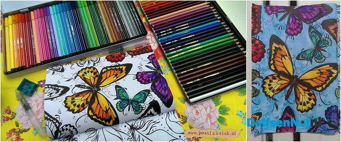 Kleuren voor volwassenen in de Trefkoele - Foto: Ingezonden foto