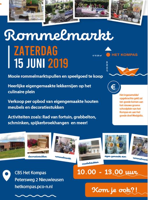 Rommelmarkt Nieuwleusen - Foto: Ingezonden foto