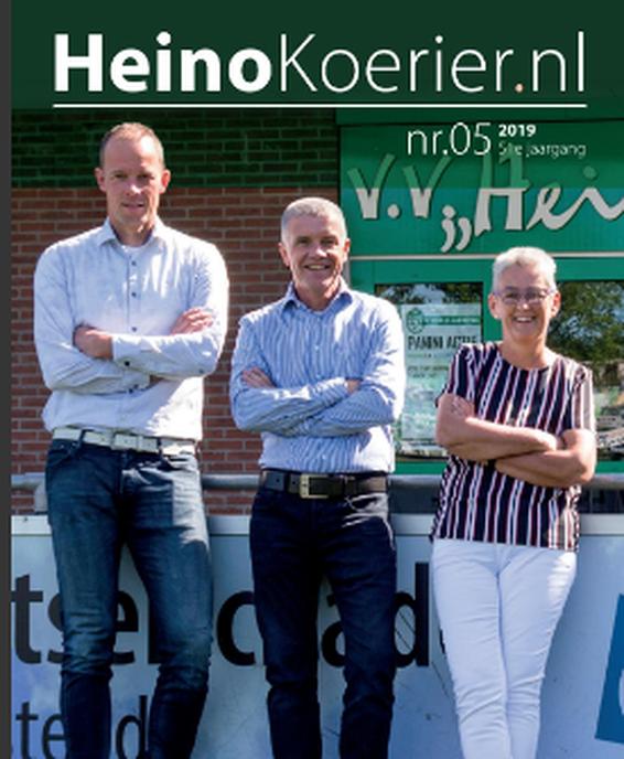 De nieuwste Heino Koerier is weer verschenen - Foto: eigen geleverde foto