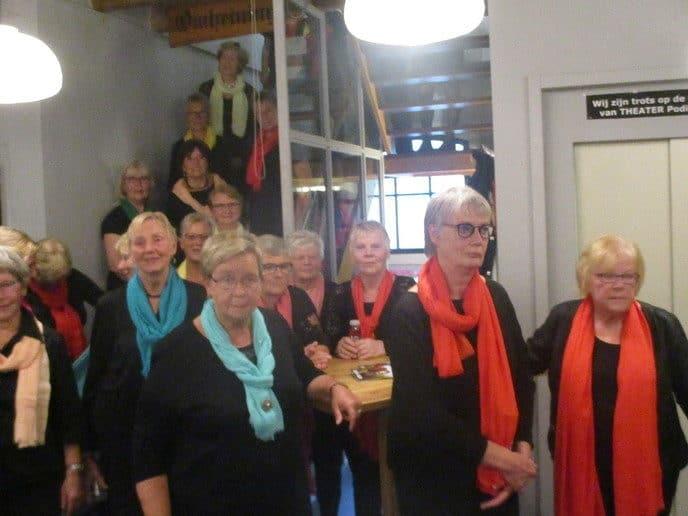 Jonkvrouwen Zwolle in Theater Podium - Foto: eigen geleverde foto