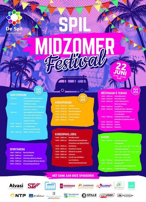 Met Midzomer festival sluit De Spil het seizoen af - Foto: eigen geleverde foto