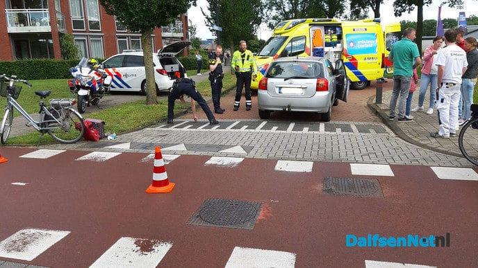 Aanrijding met letsel Schildersweg, Kuipersweg Dalfsen - Foto: Niels Jansen