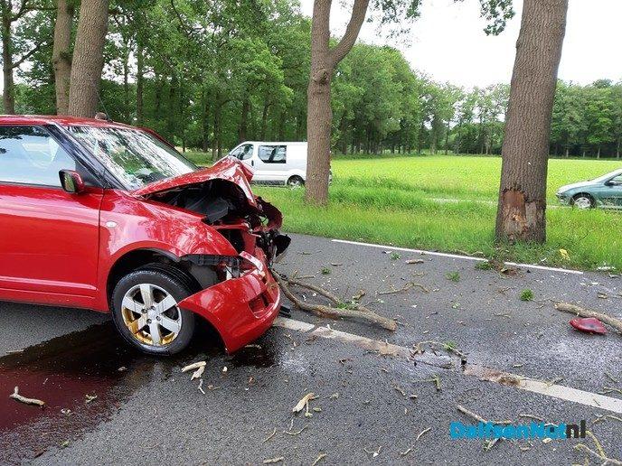 Eenzijdig ongeval op de Poppenallee - Foto: Niels Jansen