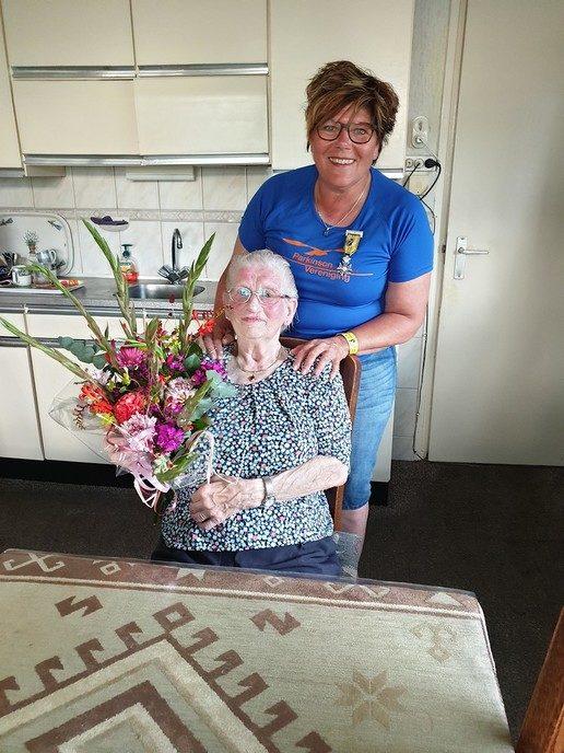 Bertha Reimink voor even uitgelopen, u kan nog doneren - Foto: eigen geleverde foto