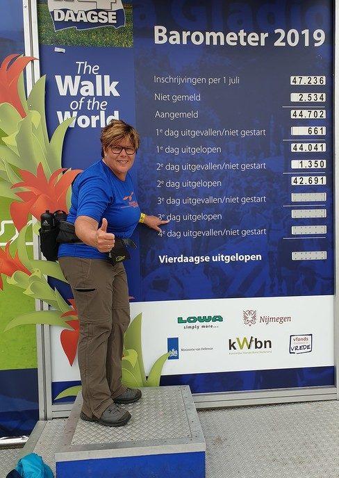 Sponsorloop Nijmegen Bertha Reimink - Foto: eigen geleverde foto
