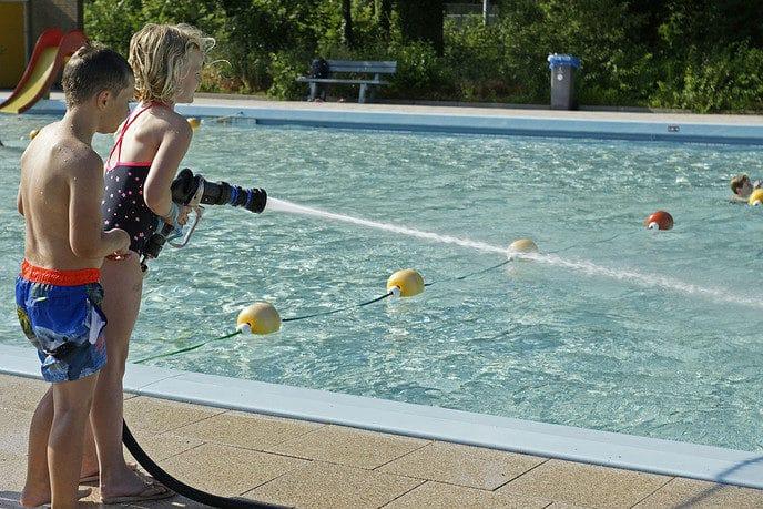 Zwemvierdaagse openluchtzwembad Gerner – dag 4 - Foto: Paul Scholten