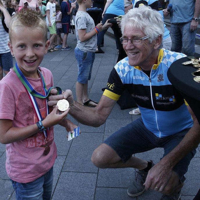 Foto's van uitreiken Datrion medailles - Foto: Paul Scholten