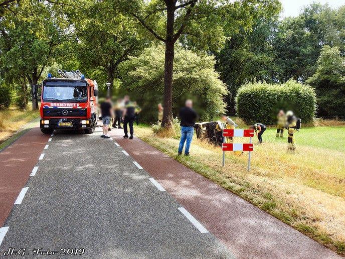 Eenzijdig ongeval Welsummerweg
