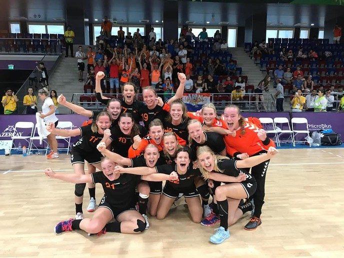 Dames U17 veroveren plek in halve finale EYOF - Foto: eigen geleverde foto
