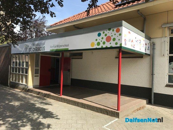 Cyriacusschool maakt nieuwe logo zichtbaar - Foto: Ingezonden foto