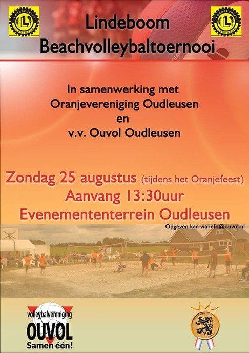 Beachvolleybaltoernooi Oudleusen - Foto: eigen geleverde foto