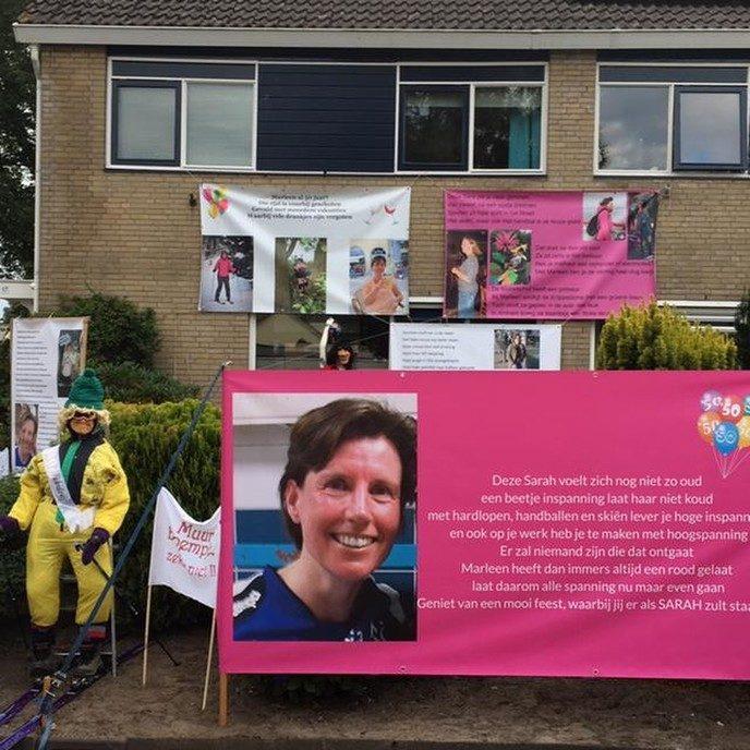 Marleen Halfman 50 jaar: Tuin te klein! - Foto: eigen geleverde foto