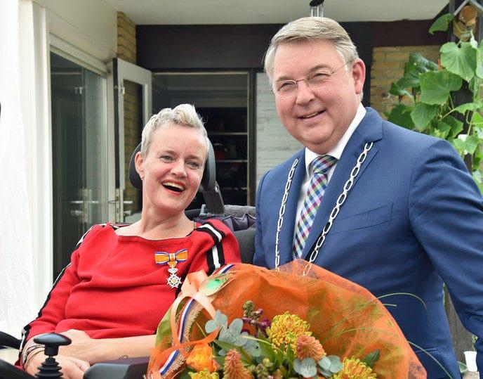 Koninklijke onderscheiding voor Dania Veltmaat-Hendriks - Foto: eigen geleverde foto
