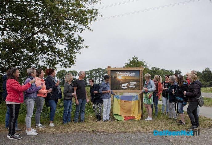 Onthulling Vechtdal Boert Bewust bord - Foto: Ingezonden foto