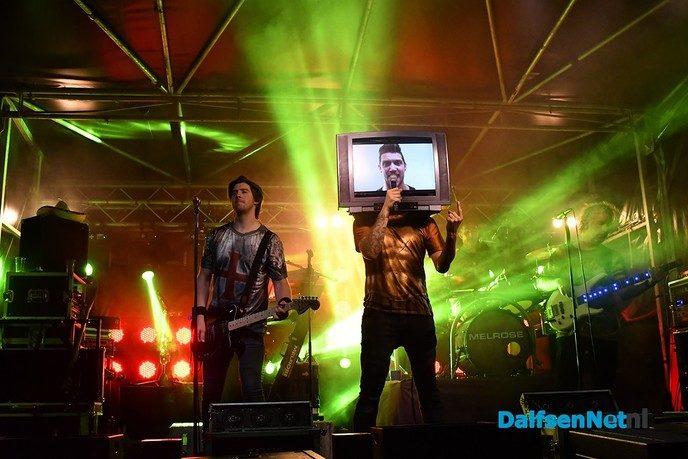 Een waanzinnig spektakel met Melrose bij Nikki's - Foto: Johan Bokma
