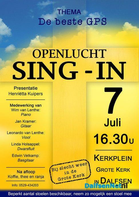Openlucht Sing-in Dalfsen - Foto: Ingezonden foto