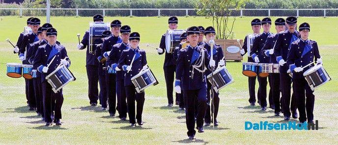 5e plaats slagwerkers Polyhymnia - Foto: Hans Heerink