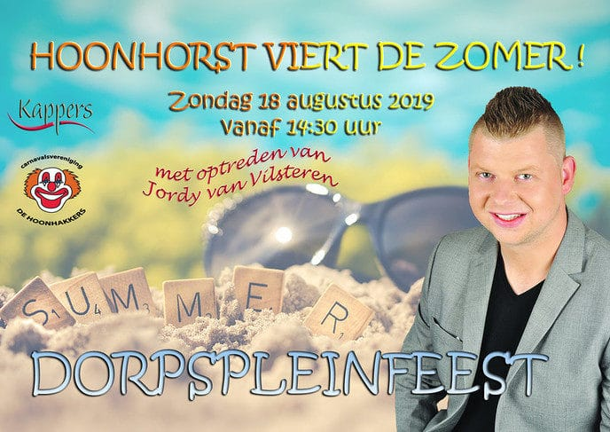Jaarlijkse dorpspleinfeest Hoonhorst - Foto: eigen geleverde foto