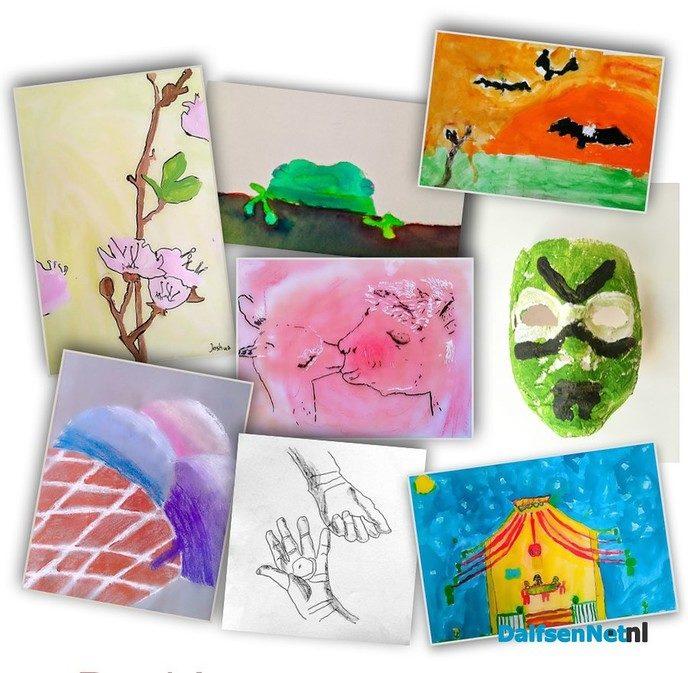 Kinderatelier (8+), Tekenen Schilderen en meer! - Foto: Ingezonden foto