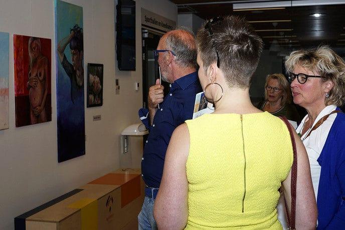 """Expositie """"Hedendaagse kunst Dalfsen e.o. - Foto: Paul Scholten"""