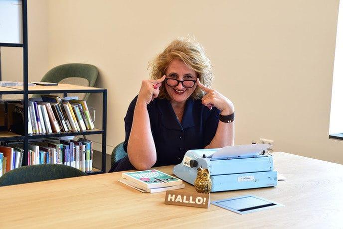 Trea ten Kate vertelt verhalen - Foto: eigen geleverde foto