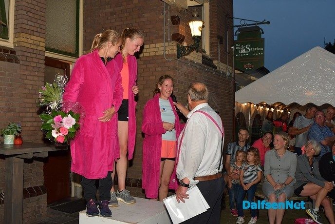 Eerste Dalfser Ladiesrun gewonnen door Aline Kootstra - Foto: Johan Bokma