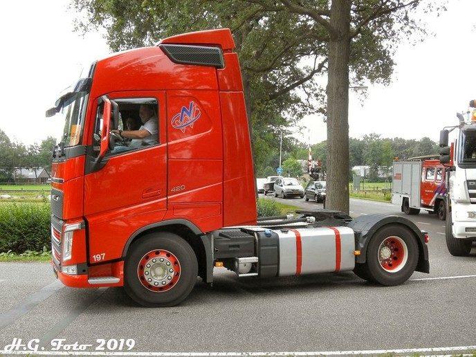 Truck instapdag sukerbietenfeest.