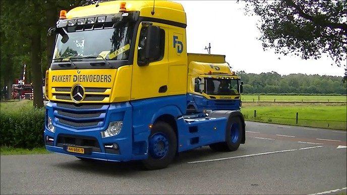 Truck instapdag Lemelerveld (Video)