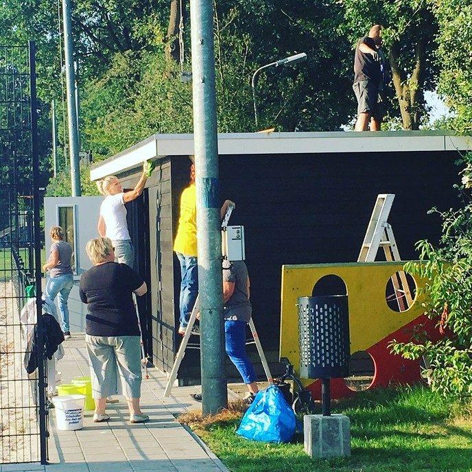 SV Dalfsen start seizoen met klussendag