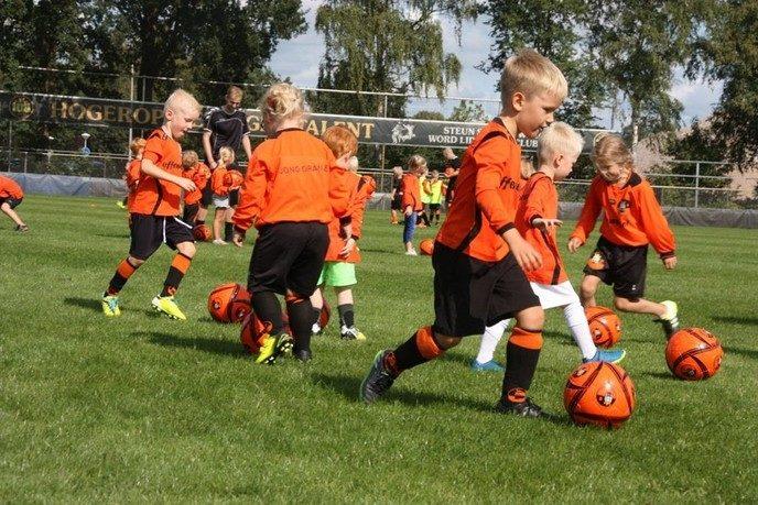 Gratis bal en S.V. Nieuwleusen shirt - Foto: eigen geleverde foto