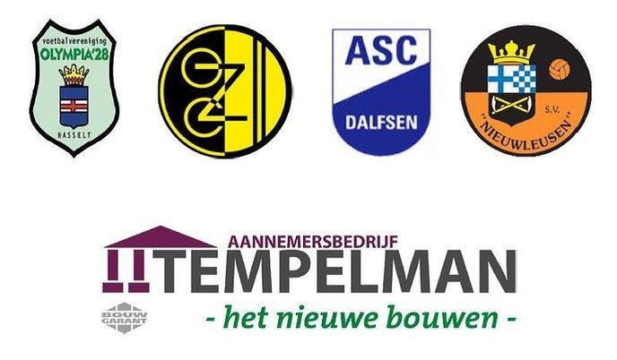 Tempelman toernooi bij S.V. Nieuwleusen - Foto: eigen geleverde foto