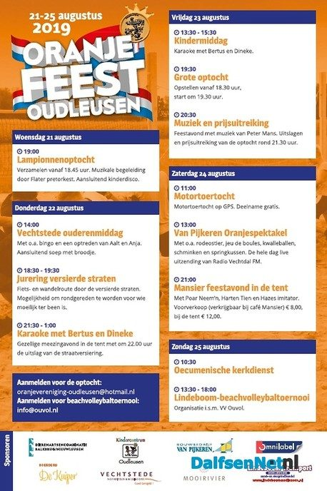 Komende zaterdag spetteren in Oudleusen - Foto: Ingezonden foto