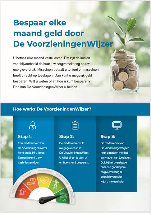 Inwoners kunnen besparen op vaste lasten - Foto: Gemeente Dalfsen