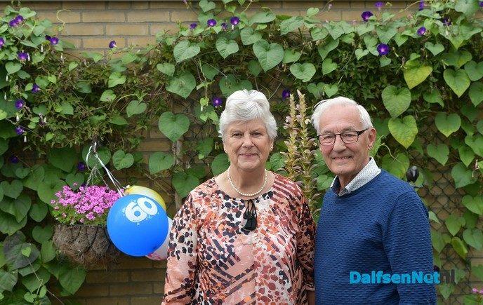 Bruidspaar Wijnberger 60 jaar getrouwd - Foto: Johan Bokma