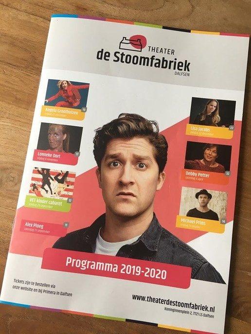 De Stoomfabriek heeft een nieuw theatermagazine!