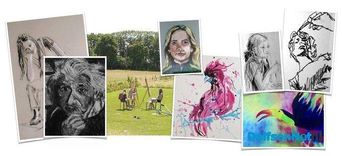 Cursus Tekenen en open atelier voor tieners - Foto: Ingezonden foto